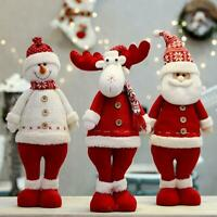 Xmas Santa Claus/Snowman/Elk Doll Toy Christmas Gift Christmas Tree Ornaments