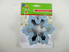 New NIP Wilton Comfort-Grip Snowflake Cookie Cutter