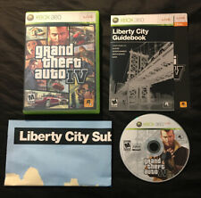 GTA Grand Theft Auto IV 4 — Complete w/ Manual & Map! Fast Ship! (Xbox 360 2008)