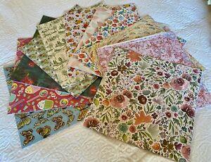 Stampin Up ~ Designer Series Paper ~ 11 12x12 pkgs ~ desirable patterns ~ NEW!