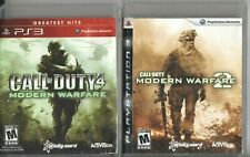 Video Game Lot - CALL OF DUTY 2-PACK - Modern Warfare / MW 2 - PlayStation 3