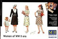 Master Box 35148 Women of WWII Scale Plastic Model Kit 1/35