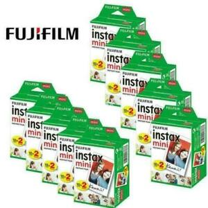 200 Sheets Fujifilm Instax Mini Instant Film For Mini 9 8 8+ 7s Printer SP-2 SP1
