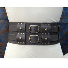 Costume Removable Belt Accessories Double Belt Gladiator Medieval Viking Cosplay