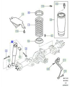 LAND ROVER GENUINE PART- SHOCK ABSORBER ASSY-Discovery 2 (L318)- RPD000190