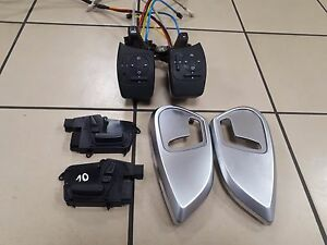 MERCEDES ML320CDI W164 FRONT  SEAT CONTROL SWITCH AIR CONTROLER SET L+R
