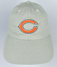 CHICAGO BEARS NFL KHAKI ADJ. SLOUCH UNSTRUCTURED LOW PROFILE CAP HAT NEW!