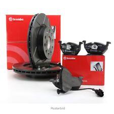 Brembo frenos kit Max line discos de freno + revestimientos para audi a3 TT VW Golf IV en la parte delantera