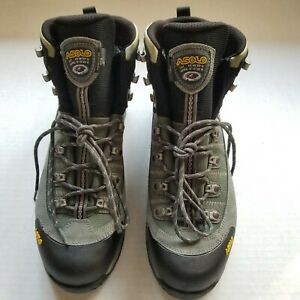 ASOLO Fugitive GTX Gore-Tex Waterproof Hiking Leather Boots Size 12 Mens
