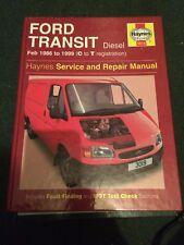 HAYNES Ford Transit Diesel (Feb 86 - 99) C to T Reg - 3019