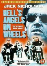 HELLS ANGELS ON WHEELS Richard Rush*Jack Nicholson Cult Biker Action DVD *EXC*