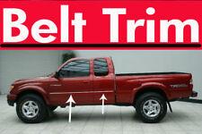 ToTACOMA truck CHROME SIDE BELT TRIM DOOR MOLDING 1995 - 2004