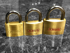 ABUS PADLOCK TRI-PACK - Great set for Locksport !!