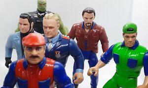 1993 ERTL Super Mario Brothers Action force Figures Spike Luigi Koopa Goomba