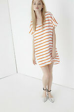 $298 NWT Rebecca Minkoff 'Audrina' Stripe Silk Dress Sz 6