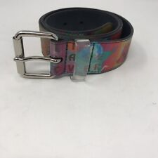 Hologram Glamour Girls Belt M Euc