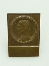 BRONZE MEDAILLE PLAKETTE  C. POELLATH SCHROBENHAUSEN UM 1900 ART NOUVEAU MEDAL