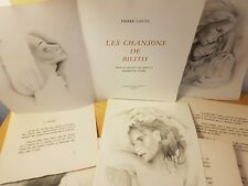 Pierre Louys - Les chanson de Bilitis - Illustrations de MARIETTE LYDIS - 1948