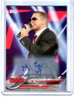 WWE The Miz 2018 Topps Authentic Autograph Card SN 19 of 99