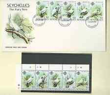 SEYCHELLES FAIRY TERN 1981 SC 468 STRIP 5 MNH & FDC FREE WORLD SHIPPING
