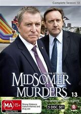 Midsomer Murders: Complete Season 13 (Single Case Version) NEW R4 DVD