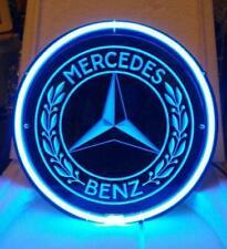 "Mercedes Benz 3D Carevd Neon Sign Beer Bar Gift 12""x12"" Light Lamp Artwork"