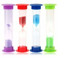 Toothbrush Timer 3-Minute Sand Sandglass Tooth Brushing Game Hourglass Decor