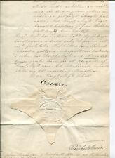 K2012, SWEDEN, ROYAL DOCUMENTSIGNED BY KING OSCAR II IN SECRET 29/12-1876.