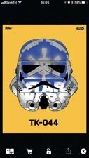 Topps Star Wars Card Trader Yellow Open TK-044