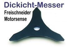 Freischneider 3-Zahn Gras Motorsense u Dickichtmesser 300 x 25,4 x 4mm dick f