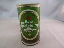 Biere Carlsberg Beer can, empty 12 oz, pull top can