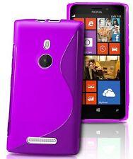 pour votre Nokia Lumia 925, ce bel étui&coque souple de qualité silicone, Violet