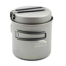 TOAKS Titanium 1100ml Pot with Pan (CKW-1100)