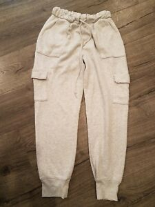 Victorias Secret Loose Fit Cargo Sweat Pants Small Petite