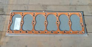 Dodge WDX Power Wagon 1946 -59 230 NOS Flathead 6 copper head gasket W/hump