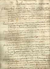 Antico Testamento Settecentesco di Bartolomeo Cecchini di Lammari Capannori 1783