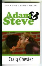 ADAM & STEVE by Chester, Alyson gay male sleaze NYC 1980s film tie-in trade pb