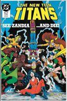 The New Teen Titans #27 DC Comic Book (1984 Series) NM 1987