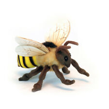 Honey Bee Winged Insect Hansa Realistic Animal Plush Toy 22cm Delivery
