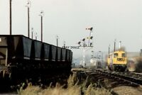 PHOTO  CLASS 20 LOCO NO 20142 20215 AT WORKSOP 1991