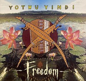 Yothu Yindi - Freedom CD **FULLY SIGNED** USA Pressing Gurrumul 1994 N/Mint