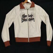 Harley Davidson Women's Reversible Zip Sleeve Jacket - Size Medium