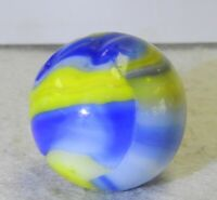 #10725m Vintage Marble King Rainbow Cub Scout Shooter Marble .92 Inches