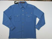 Royal Prestige Mens Long Sleeves Blue  Shirt XL $100 Nwt