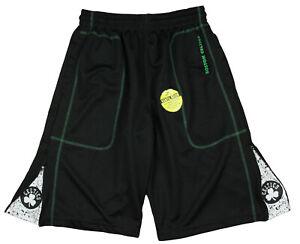 Zipway NBA Basketball Men's Boston Celtics Shorts, Black / White