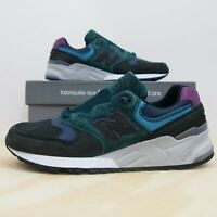 New Balance 999 Made In USA Men's Size 12 Green Black Purple Men's Sneakers