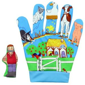Old MacDonald Nursery Rhymes Song Mitt The Puppet Company EYFS Preschool