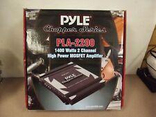 Amplifier Pyle 1400 Watt 2 Ch. Chopper Series 'NEW'
