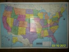 25x38 Hammon Odyssey United States Map, Wall Poster, New