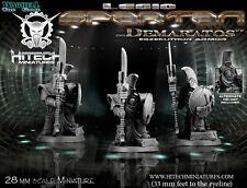 Hitech Miniatures - 28SF033 Spartan Demaratos 28mm Warhammer 40k 40000